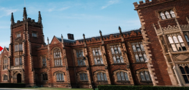 Photo of Queens University from Queens University Website