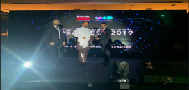 Kailash Desai received Most Trust CEO 2019 Award from Hon Kisan Reddy, Union Minister for State for Home Affairs