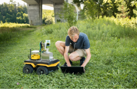 Powerful Robots Helps in Faster Detection of Bridge Defects