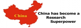 China has become a research superpower
