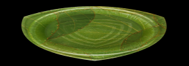 Eco-friendly tableware made of leaves