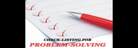 Check-listing for problem-solving