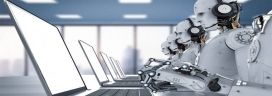 Humans get demoralized working with faster robots