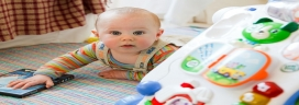 Toddlers Exposed to Older Children Learn Language Faster