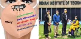 IIT's Face Mask Gives a Boost to Textile Industry